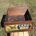Vintage Muzzy's Sun Gloss Starch Wood Dovetail Box Crate