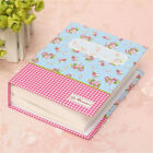 Romantic 4x6 Floral Memory Photo Album Holders 100 Photos Storage Case Gifts US
