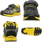 Despicable Me Kids Blk Ylw Ath Shoe Sneaker