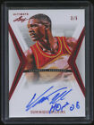 2012-13 Leaf Ultimate Red #DW1 Dominique Wilkins Auto 5