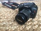 Canon EOS Rebel T2i EOS 550D 180MP Digital SLR Camera Black + BONUS