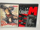 Fritz Lang M The Criterion Collection  Die Nibelungen Kino Lorber DVD 1998 2002