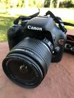 Canon Rebel EOS T2i With EFS 18 55mm Lens And Battery Charger