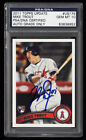 2011 Topps Update Mike Trout PSA 10 RC Rookie Auto