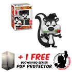 FUNKO POP LOONEY TUNES PEPE LE PEW SDCC 2018 EXCLUSIVE + FREE POP PROTECTOR