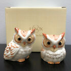 Lenox Wise Owl Salt and Pepper Shakers Set Mint in Box