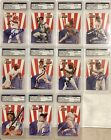 2000 TEAM NABISC0 COMPLETE SIGNED SET 11 ALL PSA DNA GRADED AND AUTHENTICATED!