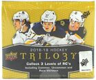 2018-19 UPPER DECK TRILOGY HOCKEY HOBBY BOX SEALED