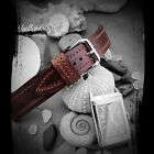 Müller&Son Horween Leather Brown Deluxe Watch Strap for Jaeger-LeCoultre Reverso