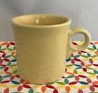Fiestaware Yellow Ring Handled Mug Fiesta Retired Pale Yellow Tom and Jerry Mug