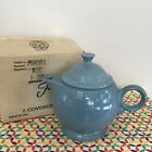 Fiestaware Periwinkle Teapot Fiesta Retired Blue Large 44 oz Tea Pot
