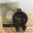Fiestaware Mulberry First Fire Ornament Fiesta 2018 Purple Christmas Holiday NIB
