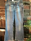 G Star Jeans Womens Flare Bootleg New W Tags Size 27 Vintage 90s High RRP220