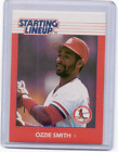 1988 OZZIE SMITH * Kenner Starting Lineup Card * ST. LOUIS CARDINALS