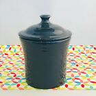 Fiestaware Slate Jam Jar Fiesta Dark Gray Kitchen Utility Grease Jar
