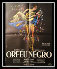 BLACK ORPHEUS 24 x 32 French Moyenne Fold Movie Poster Original 1959