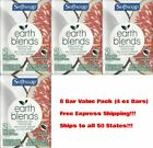 SoftSoap 8 Bar Value Pack Earth Blends Coconut  Fig 8 x 4 Oz Bars
