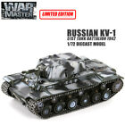 RUSSIAN KV 1 51ST TANK BATTALION 1 72 DIECAST MODEL FINISHED TANK WAR MASTER