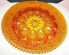 VINTAGE AMBER INDIANA TIARA SANDWICH 12 INCH EGG PLATE