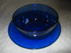 Anchor Hocking Cafe Cobalt Blue Salad Plate - 8