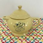 Fiestaware Yellow 2 Cup Teapot Fiesta Retired Millennium Limited Childs Teapot