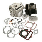 39mm Bore Cylinder Head Piston Engine Rebuild Kit For Honda Z50R XR50 CRF50 50CC
