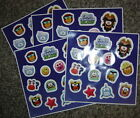 Disney CLUB PENGUIN Island Stickers 5 Large Sheets 70 Stickers HTF