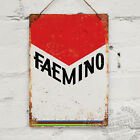 FAEMINO Vintage Metal Wall Sign Retro Bike Gift Cycling Tour Merckx Jersey Giro