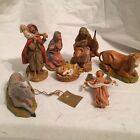 vintage fontanini By Roman nativity set Italy l17