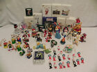 60 Piece Hallmark,Disney,Pooh,Peanuts & Other's Christmas Ornaments Awesome!