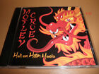 MOTLEY CRUE promo SINGLE cd HELL ON HIGH HEELS nikki sixx mick mars vince neil