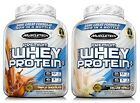MuscleTech 5 lb Jar 100% Whey Protein Powder Premium Vanilla or Chocolate
