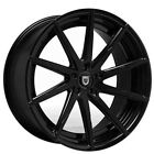 4Rims 22 Lexani Wheels CSS 15 Gloss Black Rims FS