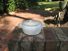 Anchor Hocking Fire-King 472 Milk Glass Baking Dish w/ Handles and Lid