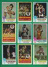 1973-74 Topps Basketball set lot of 183 diff cards Frazier Hayes Jackson Wicks