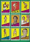 1972-73 Topps Basketball set lot of 157 diff cards Bradley Reed Cowens Monroe