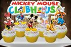 Disney MICKEY MOUSE CLUBHOUSE Cupcake Topper 12pcs