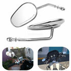 CHROME REARVIEW SIDE MIRRORS FOR HARLEY DAVIDSON Sportster883 XL883 MOTORCYCLE