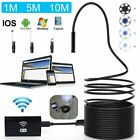 1280p Wifi Endoscope Borescope Inspection Usb Hd Camera Cam Ip67 For Andriod Ios