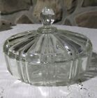 ANCHOR HOCKING OLD CAFE CLEAR CANDY DISH