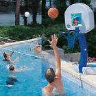Pool Basketball Hoop Volleyball Net Poolside Inground Swimming Game Water Sports