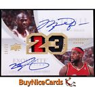Ultimate 23 - Top Michael Jordan & LeBron James Dual Autograph Cards 32