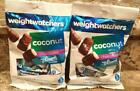 WEIGHT WATCHERS DARK CHOCOLATE MINT PATTIES COCONUT CANDY YUMMY KETO LOT OF 2