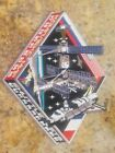 Soviet Russian MIR Station  Space Shuttle Dockings Commemorative Two Patch lot