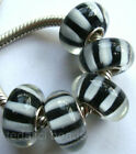Wholesale Silver Lampwork Murano Glass Beads Fit European Charm Bracelet TF366