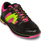 KR Strikeforce Womens Quest Black Pink Yellow Bowling Shoes