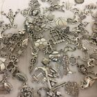 Charmed Mix of 100 pieces metal charms Scrapbooking Craft Project Jewelry making