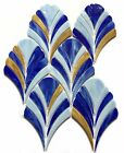 MOSAIC Stained Glass Tile Glass Floor and Wall Tile Stained glass 10 Pcs