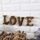 Wedding Decor Retro Wooden Letters Alphabet Vintage Numbers Shooting Props