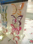 JOT 3D butterfly jewel scrap book stickers crafts love letter shabby chic